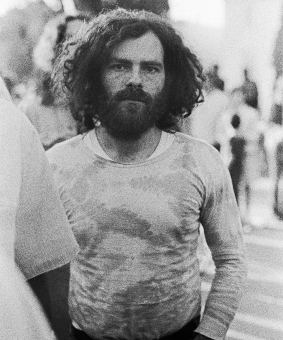 """<h2>Jerry Rubin</h2><br>Long before Jerry Rubin protested against the War in Vietnam, he was working on the ground demonstrating for a number of other worthy causes. The activist openly supported the Black Power movement as well as the legalization of marijuana, and he was one of the founding members of the Youth International Party (YIP) with Hoffman and Paul Krassner.<span class=""""copyright"""">Photo: Harold Adler/Underwood Archives/Getty Images.</span>"""