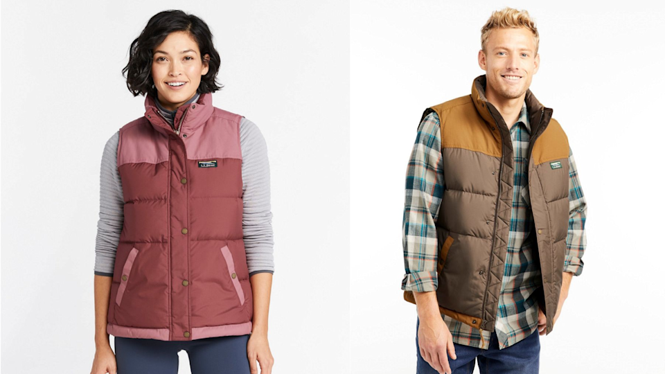 You can't go wrong with an L.L.Bean vest.