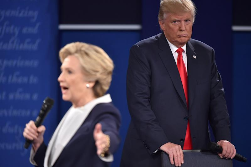 Hillary Clinton: Donald Trump 'Literally Stalked Me' During Presidentail Debate