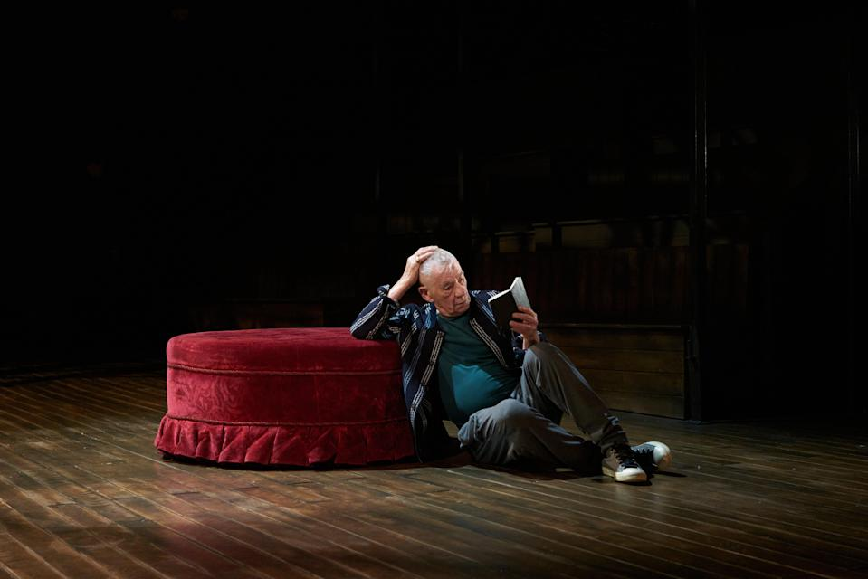 McKellen is 'a sensation in every sense of the word' as Hamlet (Getty Images)