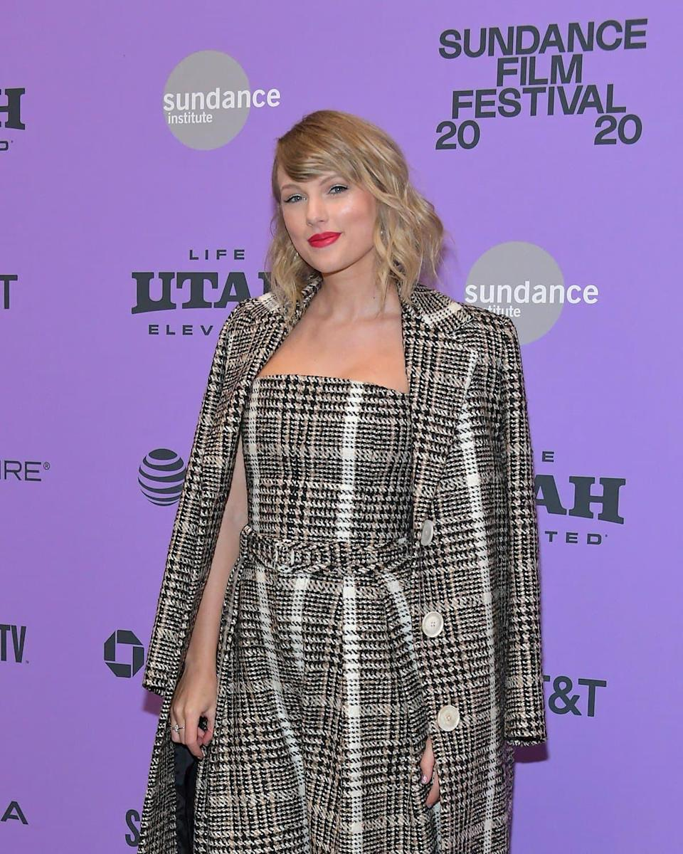 Taylor Swift en 2020 - Neilson Barnard / GETTY IMAGES NORTH AMERICA / Getty Images via AFP