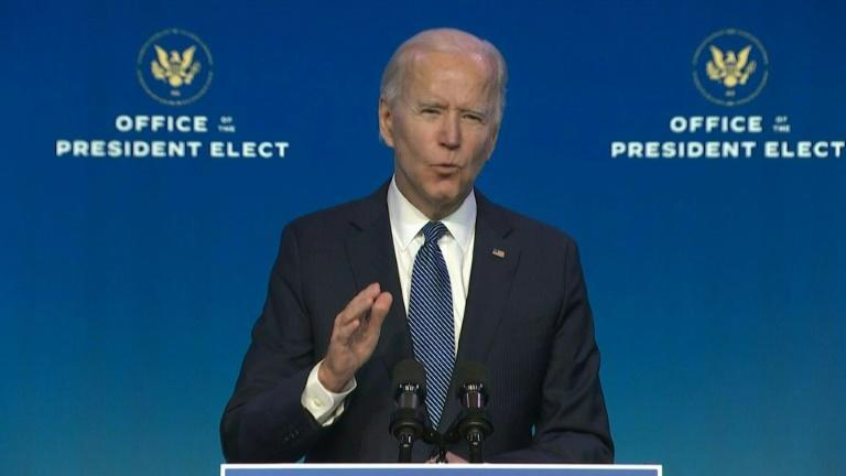 """""""We could see it coming"""": Biden on Capitol violence"""