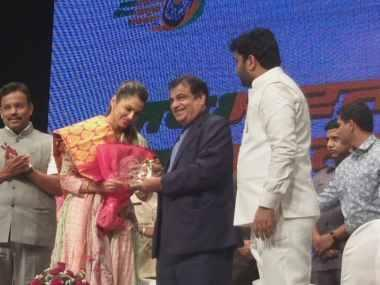 Actor Isha Koppikar joins BJP, appointed working president of saffron party's Women Transport Wing