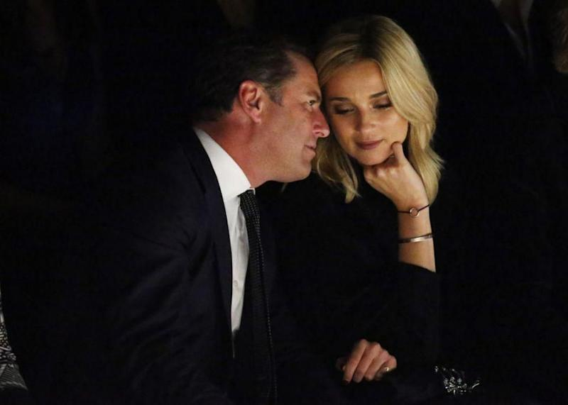 Rumours the pair became engaged started early this year. Photo: Getty