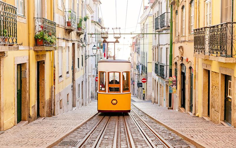 In Lisbon, things are slowly getting back to normal - getty