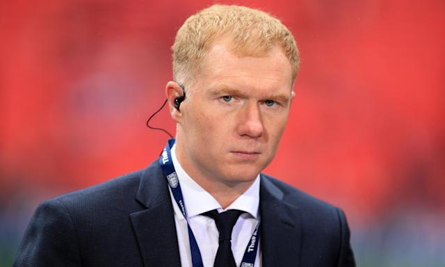 Paul Scholes has been a regular at Boundary Park, the home of Oldham Athletic, and could become the club's new manager having been interviewed for the post.