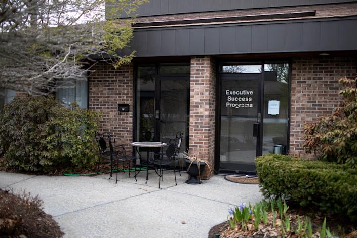 The exterior of the NXIVM Executive Success Programs office at 455 New Karner Road on April 26, 2018 in Albany, New York.
