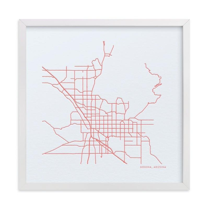 """<h3>Minted Custom Map Letterpress Art</h3><br>Commemorate a destination that's important to you both with an art print designed to represent the exact address of your choosing. <br><br><em>Shop <strong><a href=""""http://www.minted.com"""" rel=""""nofollow noopener"""" target=""""_blank"""" data-ylk=""""slk:Minted"""" class=""""link rapid-noclick-resp"""">Minted</a></strong></em><br><br><strong>Minted</strong> Custom Map Letterpress Art, $, available at <a href=""""https://go.skimresources.com/?id=30283X879131&url=https%3A%2F%2Fwww.minted.com%2Fproduct%2Fcustom-map-printing%2FMIN-XX4-MLA%2Fcustom-map-letterpress-art"""" rel=""""nofollow noopener"""" target=""""_blank"""" data-ylk=""""slk:Minted"""" class=""""link rapid-noclick-resp"""">Minted</a>"""