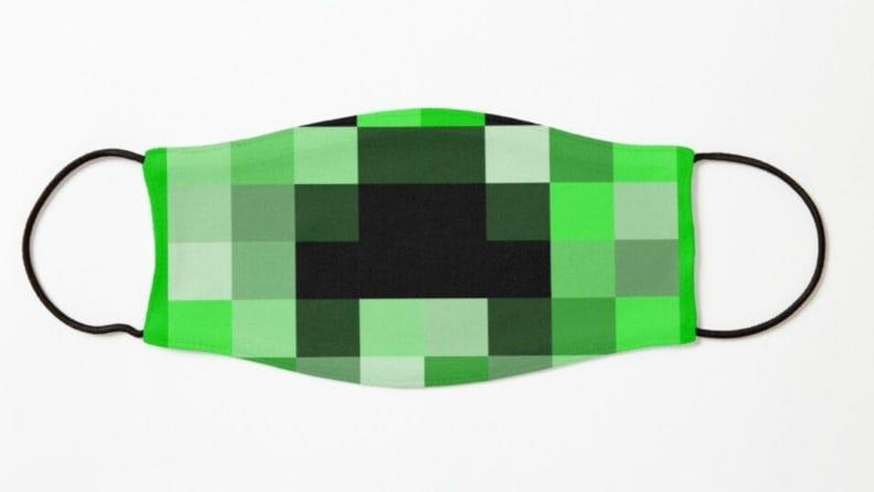 """This """"creeper"""" mask is, indeed, creepy enough for Halloween."""