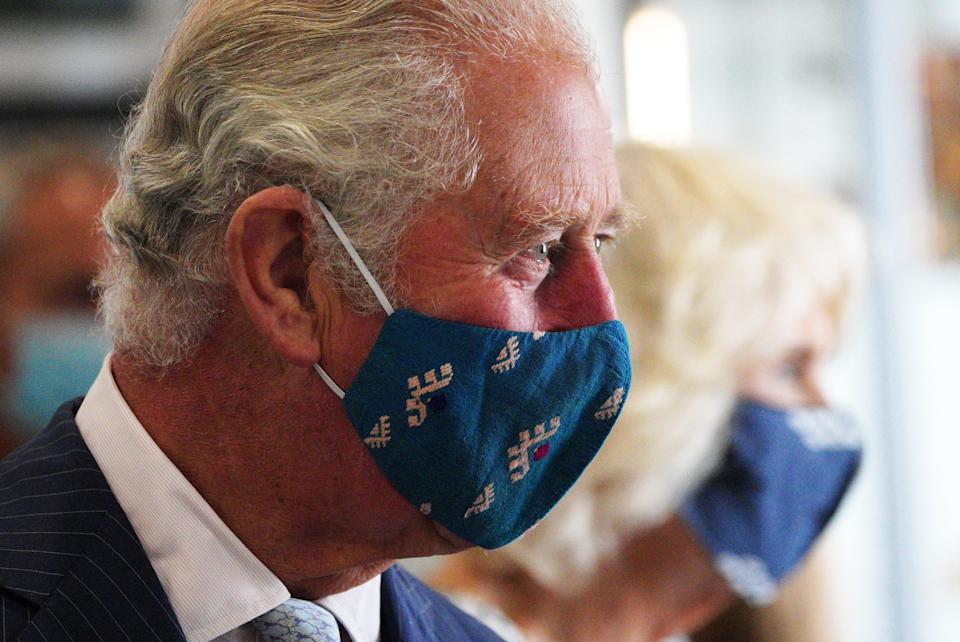 Charles and Camilla are on a week long tour of Wales (PA Wire)