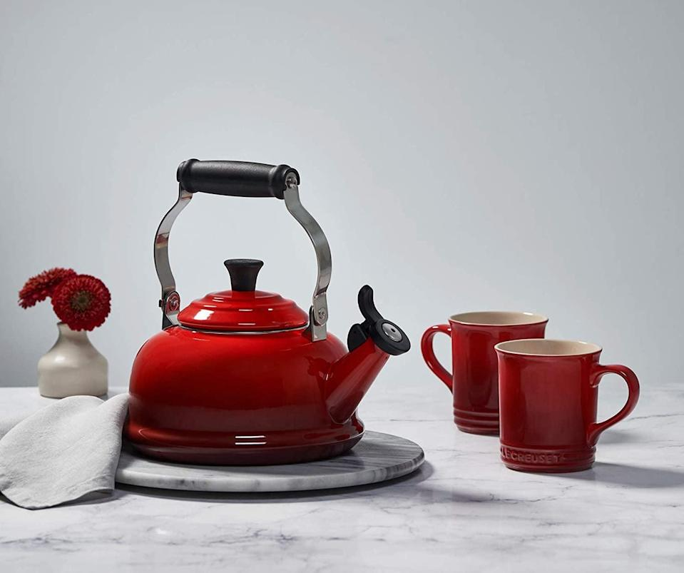 <p><span>Le Creuset Tea Kettle</span> ($75, originally $100)</p>