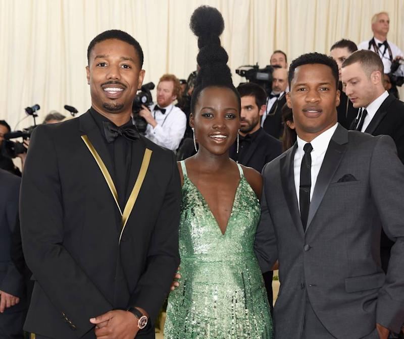 Lupita Nyong'o's Sky-High Hair Stole the Show at the Met Gala