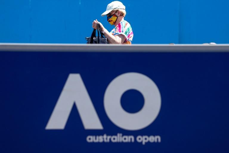 The spectator cap has now been set at just under 7,500 per session, half capacity of the Rod Laver Arena centre court