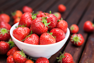 """<p>They might be a sweet treat—but they also pack a potent health punch: <a href=""""https://www.prevention.com/food-nutrition/healthy-eating/a26537540/health-benefits-of-strawberries/"""" rel=""""nofollow noopener"""" target=""""_blank"""" data-ylk=""""slk:Strawberries"""" class=""""link rapid-noclick-resp"""">Strawberries</a> are loaded with antioxidants like flavonoids and tannins. In addition to scavenging harmful free radicals, the compounds are thought to help protect against DNA damage and inhibit the growth of cancer cells, a <a href=""""https://www.ncbi.nlm.nih.gov/pubmed/28609132"""" rel=""""nofollow noopener"""" target=""""_blank"""" data-ylk=""""slk:recent review"""" class=""""link rapid-noclick-resp"""">recent review</a> concluded.</p><p><strong>Try it:</strong> <a href=""""https://www.prevention.com/food-nutrition/recipes/a22038069/strawberry-caprese-pasta-salad/"""" rel=""""nofollow noopener"""" target=""""_blank"""" data-ylk=""""slk:Strawberry Caprese Pasta Salad"""" class=""""link rapid-noclick-resp"""">Strawberry Caprese Pasta Salad</a></p>"""