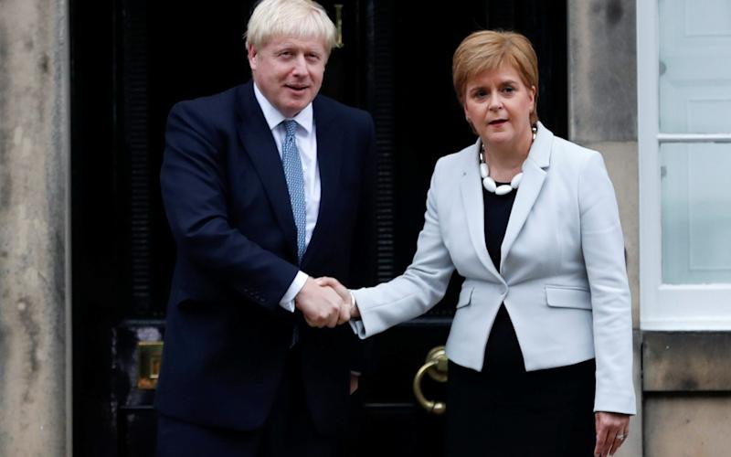 Nicola Sturgeon's government has asked for 'UK' to be omitted from the title of the 2022 festival - Reuters