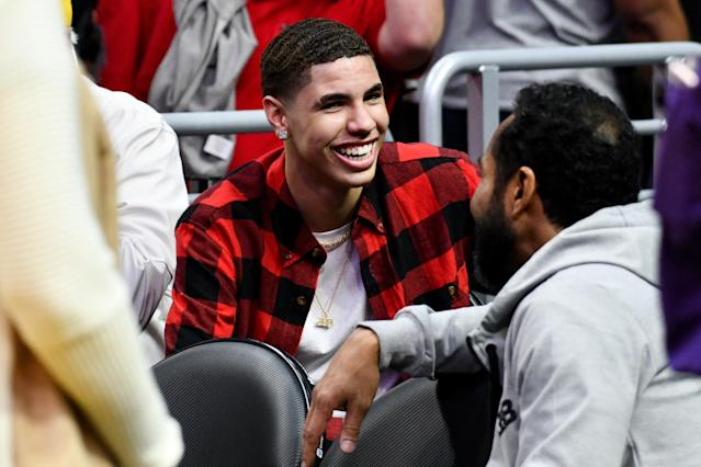 Despite having apparently burned his NCAA eligibility, LaMelo Ball appears intent on playing college basketball. (Getty)