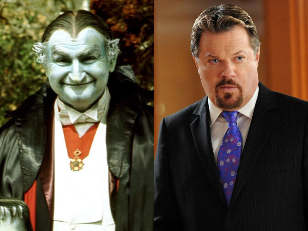 <b>Grandpa Munster</b><br><br><b>Original Cast:</b> Al Lewis<br><br><b>New Cast:</b> Eddie Izzard<br><br>Lily's ancient dad Grandpa Munster might have a bit of an accent when British comedian and actor Eddie Izzard takes over the role made famous by Al Lewis. But that makes sense: Vampires usually sound vaguely European, don't they?