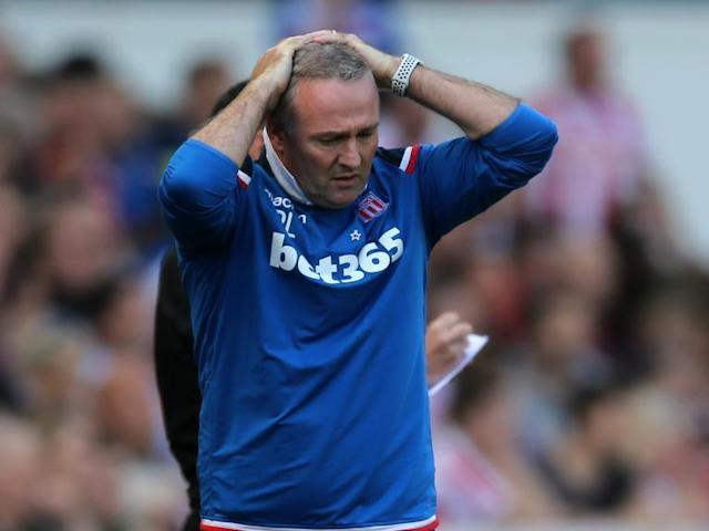 Paul Lambert insists Stoke City will bounce-back from relegation and hints that he could the man to take them up