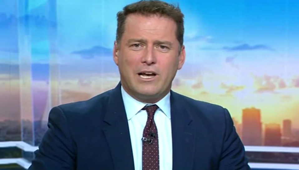Last month Karl Stefanovic was dumped from Today. Photo: Channel Nine