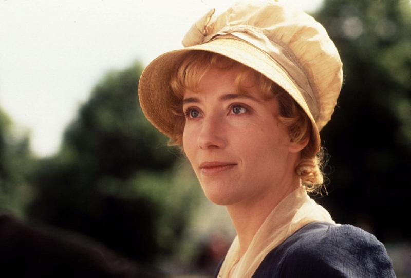 "Emma Thompson as seen in ""Sense and Sensibility."""
