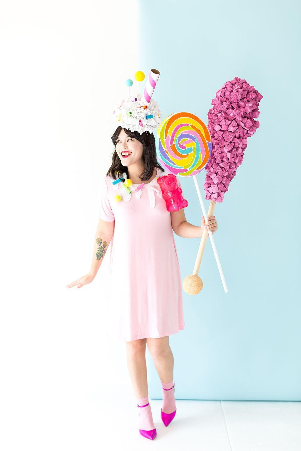 """<p>Inspired by those """"crazy"""" milkshakes that have dominated Instagram lately, this costume is a sweet treat your kids will want to copy. We can't get over the handmade rock candy, crafted from—get this!—bits and pieces of pool noodles.</p><p><strong>Get the tutorial at <a href=""""http://www.awwsam.com/2017/10/diy-crazy-milkshake-costume.html"""" rel=""""nofollow noopener"""" target=""""_blank"""" data-ylk=""""slk:Aww Sam"""" class=""""link rapid-noclick-resp"""">Aww Sam</a>.</strong></p><p><a class=""""link rapid-noclick-resp"""" href=""""https://www.amazon.com/Oodles-Noodles-Deluxe-Foam-Pool/dp/B07QDBHW78?tag=syn-yahoo-20&ascsubtag=%5Bartid%7C10050.g.21603260%5Bsrc%7Cyahoo-us"""" rel=""""nofollow noopener"""" target=""""_blank"""" data-ylk=""""slk:SHOP POOL NOODLES"""">SHOP POOL NOODLES</a></p>"""