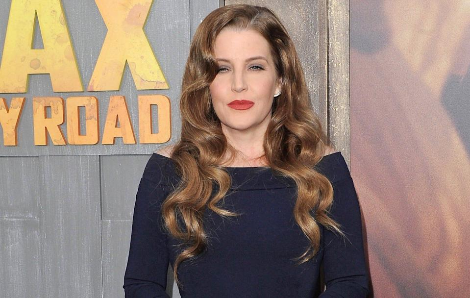 Lisa Marie Presley, pictured in 2015, writes about her opioid addiction in a new book about the epidemic. (Photo: Axelle/Bauer-Griffin/FilmMagic)