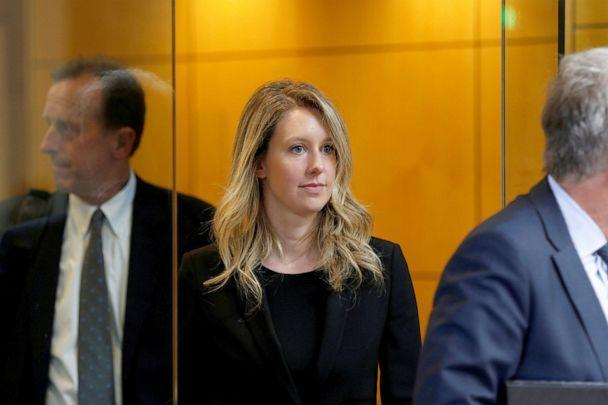 PHOTO: Former Theranos CEO Elizabeth Holmes leaves after a hearing at a federal court in San Jose, CaliF., July 17, 2019. (Stephen Lam/Reuters)