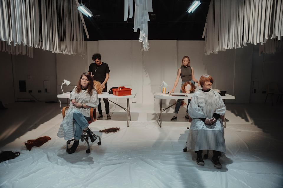 <p>The Royal Court's Living Newspaper will livestream two new editions</p> (Isha Shah)
