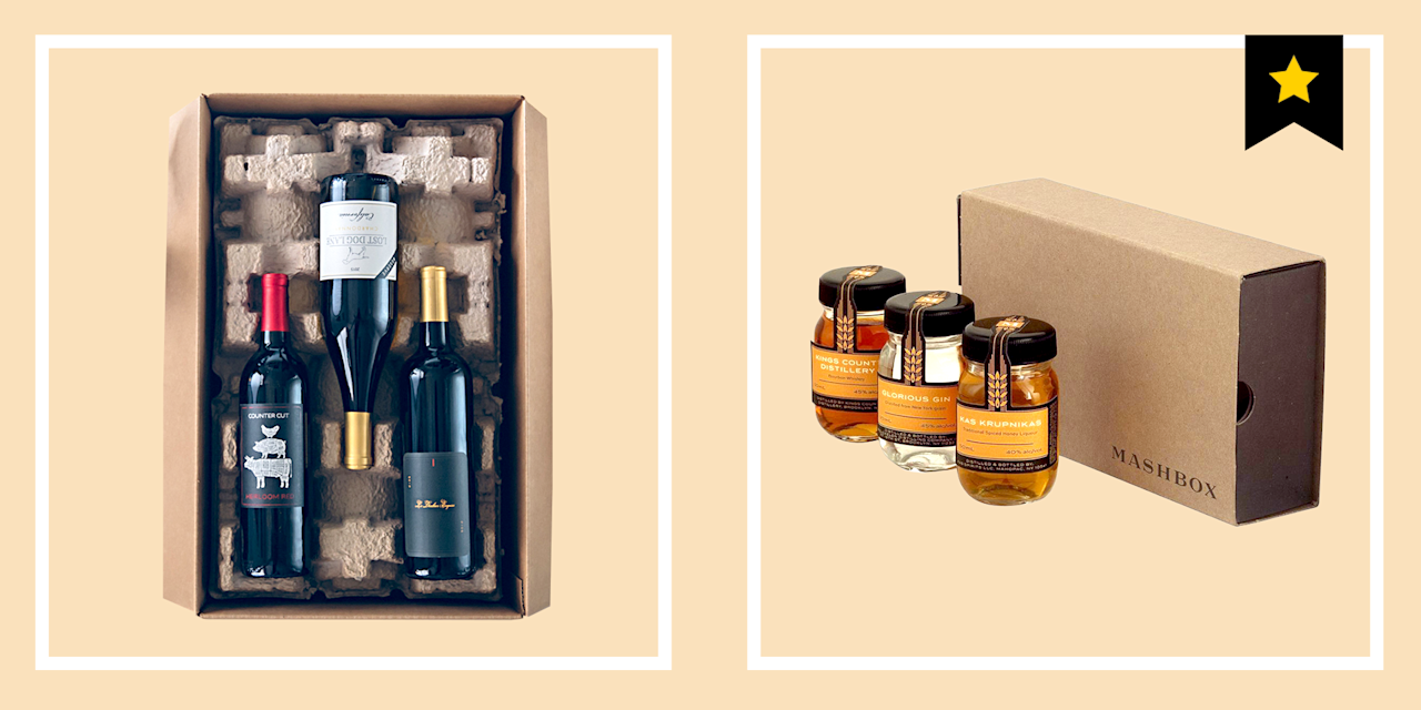 """<p>There is no finer feeling than rewarding yourself with a tumbler of whiskey or a frosty bottle of beer when you finely arrive home from the office. Obviously. And subscription boxes are the easiest way to make sure you always have that whiskey or beer waiting on hand. </p><p>For those of you who jumped onboard when <a href=""""https://www.esquire.com/style/advice/g2912/best-subscription-boxes-for-men/"""" target=""""_blank"""">the subscription box craze</a> took off, you won't be shocked to learn that those boxes can come bearing a boozy selection of products, too. It's only smart to sign up for one in addition to the sock subscription, the snack subscription, and the shaving supply subscription you already have coming to your front door. To keep you stocked up on the alcohol you like-whether that be hard liquor, craft beer, or wine-here are the 13 best alcohol subscription boxes you can order for monthly delivery. And for those who can't keep their home bars stocked with syrups, liqueurs, and garnishes for the life of them, we have two cocktail subscription box options. (Keep in mind, <a href=""""https://www.esquire.com/food-drink/drinks/a27377167/best-online-alcohol-delivery-services/"""" target=""""_blank"""">shipping depends on where you live</a>.)</p><p> Cheers to not having to brave a bar crowd to get a really good drink.<br></p>"""