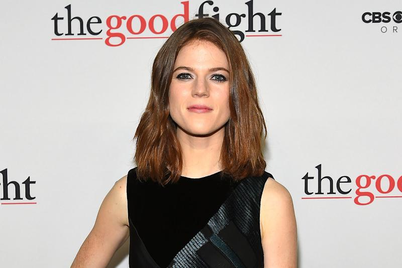 Rose Leslie stars as Maia Rindell in The Good Wife spin-off The Good Fight: Ben Gabbe/Getty