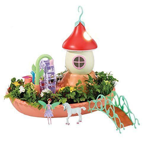 "<p><strong>My Fairy Garden</strong></p><p>amazon.com</p><p><strong>$21.99</strong></p><p><a href=""https://www.amazon.com/dp/B085PND1WC?tag=syn-yahoo-20&ascsubtag=%5Bartid%7C10055.g.203%5Bsrc%7Cyahoo-us"" rel=""nofollow noopener"" target=""_blank"" data-ylk=""slk:Shop Now"" class=""link rapid-noclick-resp"">Shop Now</a></p><p>Kids can actually plant seeds and grow flowers around this playset. It also has just the right amount of play features, including a water wheel that really pumps water and spins, a fairy house that lights up and plays sounds if you blow on it, and a fairy and unicorn figure to play with. The bridge can connect it to other <a href=""https://www.amazon.com/s?k=My+Fairy+Garden&ref=bl_dp_s_web_20714413011&tag=syn-yahoo-20&ascsubtag=%5Bartid%7C10055.g.203%5Bsrc%7Cyahoo-us"" rel=""nofollow noopener"" target=""_blank"" data-ylk=""slk:My Fairy Garden"" class=""link rapid-noclick-resp"">My Fairy Garden</a> playsets, too. <em>Ages 4+ </em></p>"