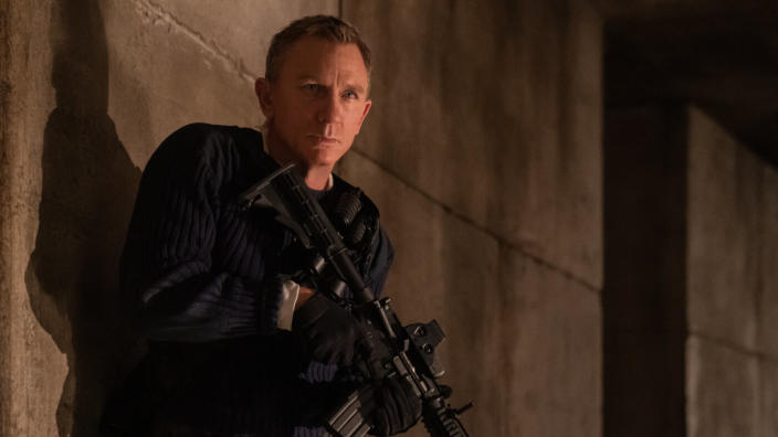 Cast your mind back to early March. James Bond adventure <em>No Time to Die</em> was the first major blockbuster to delay its release due to the coronavirus pandemic. Nine months later, Daniel Craig's swansong is currently set to debut as one of the first major blockbusters of 2021. It will see 007 brought out of retirement by the threat of Rami Malek's mysterious villain Safin. Expect guns, martinis and very, very fast cars. (Credit: Eon/Universal)