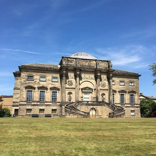 "<p>Owned by an aristocratic family, a previous inhabitant of this Neoclassical mansion was in fact the great lady that Downton Abbey's Lady Grantham is based on. It was also used as a filming location in Keira Knightley film, The Duchess. </p><p>The State Room interiors are to be admired, alongside Kedleston Hall's original collection of paintings and sculpture. But, to be honest, we're mostly here for the extravagant chandeliers and patterned wallpapers that the Featheringtons would be proud of. </p><p>For something similar, join antiques expert Paul Martin on a tour of the Peak District's stately homes.</p><p><a class=""link rapid-noclick-resp"" href=""https://www.goodhousekeepingholidays.com/tours/peak-district-stately-homes"" rel=""nofollow noopener"" target=""_blank"" data-ylk=""slk:FIND OUT MORE"">FIND OUT MORE</a></p><p><a href=""https://www.instagram.com/p/CAxJU2qpRY4/"" rel=""nofollow noopener"" target=""_blank"" data-ylk=""slk:See the original post on Instagram"" class=""link rapid-noclick-resp"">See the original post on Instagram</a></p>"