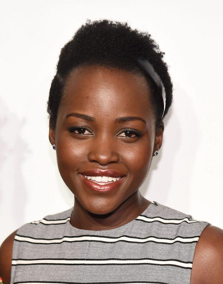 Lupita threw a Coming to America party. (Photo: Getty Images)