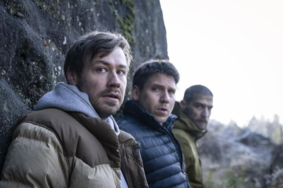"""<p>Five friends on a hiking trip find themselves pursed by a mysterious and relentless gunman in this fast-paced German thriller.</p> <p><strong>When it's available:</strong> <a href=""""http://www.netflix.com/title/81350329"""" class=""""link rapid-noclick-resp"""" rel=""""nofollow noopener"""" target=""""_blank"""" data-ylk=""""slk:Sept. 10"""">Sept. 10</a></p>"""