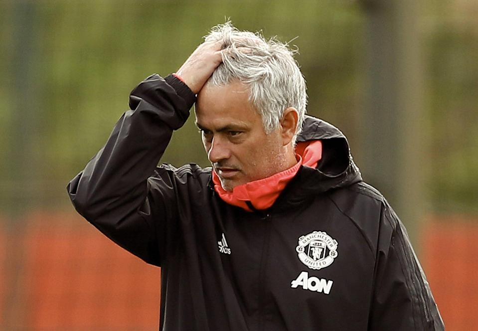 Manchester United just sacked manager Jose Mourinho. Photo: Action Images via Reuters/Jason Cairnduff/File Photo