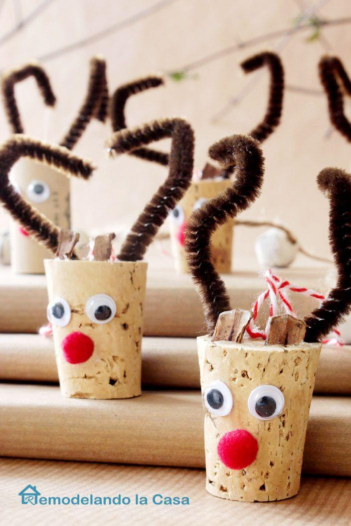 """<p>Wine corks make the best reindeers for Christmas ornaments. </p><p><strong>Get the tutorial at <a href=""""http://www.remodelandolacasa.com/2014/11/jfekw.html"""" rel=""""nofollow noopener"""" target=""""_blank"""" data-ylk=""""slk:Remodel and Dolacasa"""" class=""""link rapid-noclick-resp"""">Remodel and Dolacasa</a>.</strong></p><p><a class=""""link rapid-noclick-resp"""" href=""""https://www.amazon.com/dp/B01LWIYJH3/?tag=syn-yahoo-20&ascsubtag=%5Bartid%7C10050.g.1070%5Bsrc%7Cyahoo-us"""" rel=""""nofollow noopener"""" target=""""_blank"""" data-ylk=""""slk:SHOP GOOGLY EYES"""">SHOP GOOGLY EYES</a></p>"""