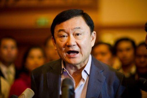 Former Thai Prime Minister Thaksin Shinawatra lives in Dubai to avoid a two-year prison sentence for corruption