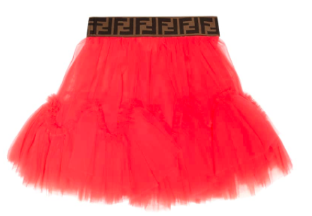 Fendi kids tulle skirt, S$297 (was S$495), 40% off. PHOTO: Mytheresa