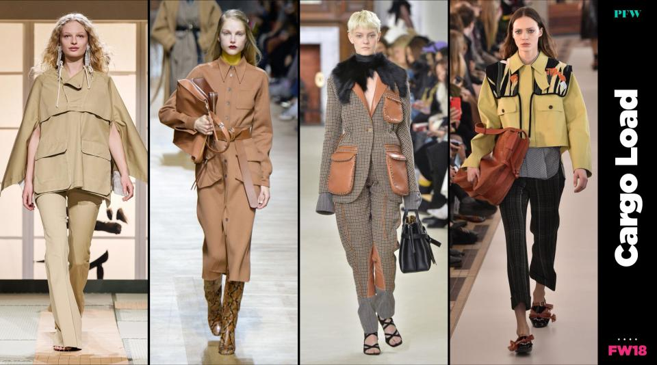 Cargo pockets will be everywhere this fall. (Photo: Getty, Art: Quinn Lemmers)