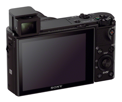 Sony M3 with viewvinder exposed