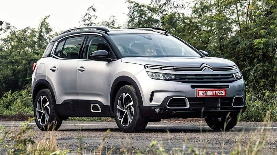 Citroen C5 Aircross unveiled in India; launch expected in March