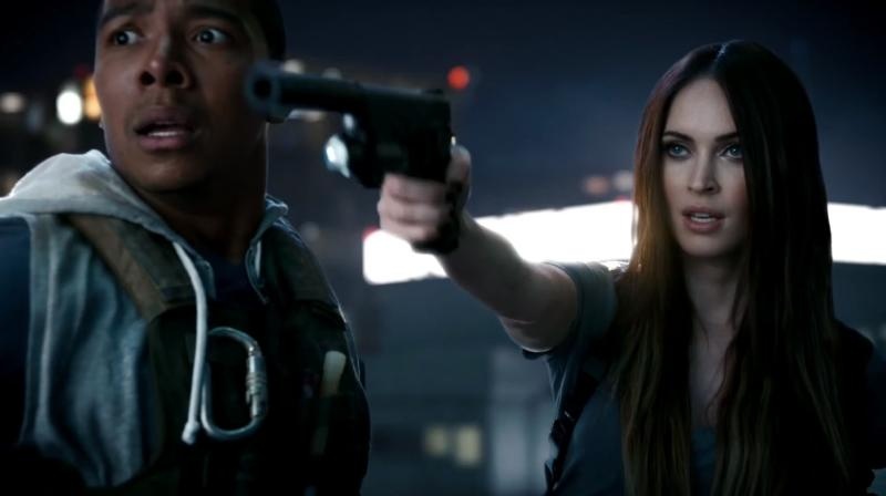 Megan Fox in 'Call of Duty: Ghosts' trailer