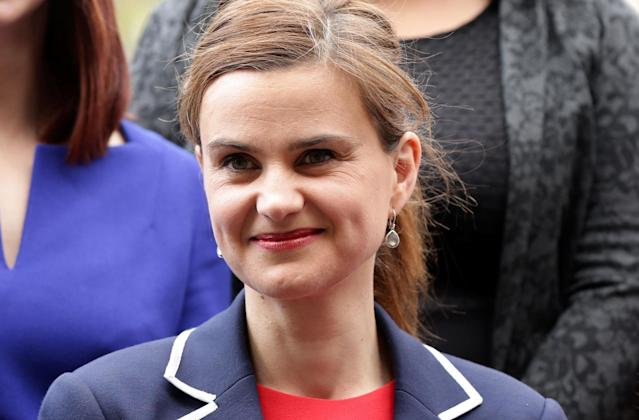 <p>Jo Cox, a member of the British Parliament, was killed by a gunman on June 16. She was 41. — (Pictured) Batley and Spen MP Jo Cox is seen in Westminster in 2015. (Yui Mok/Press Association/Handout via Reuters) </p>