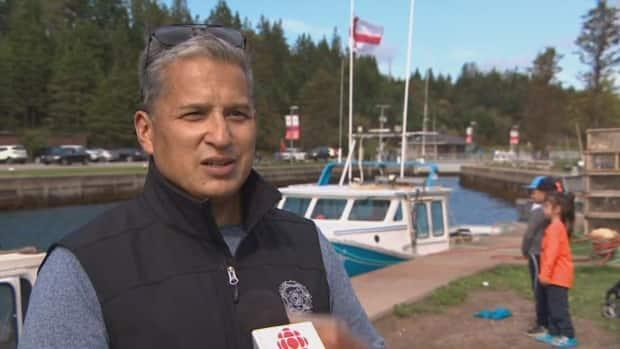 Potlotek First Nation Chief Wilbert Marshall says his band has a right to govern its own moderate livelihood fishery. (CBC - image credit)