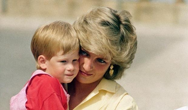 The former Princess of Wales Diana, seen here with her son Prince Harry, also criticized the way the Royal Family treated her.