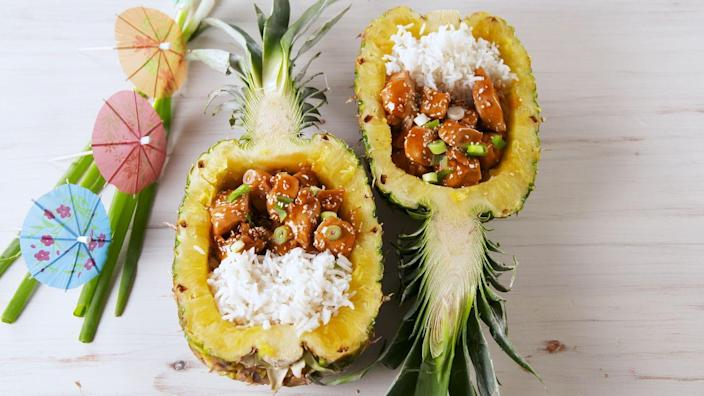 "<p>Setting sail.</p><p>Get the recipe from <a href=""https://www.delish.com/cooking/recipe-ideas/a20064993/chicken-teriyaki-pineapple-bowls-recipe/"" rel=""nofollow noopener"" target=""_blank"" data-ylk=""slk:Delish"" class=""link rapid-noclick-resp"">Delish</a>.</p>"