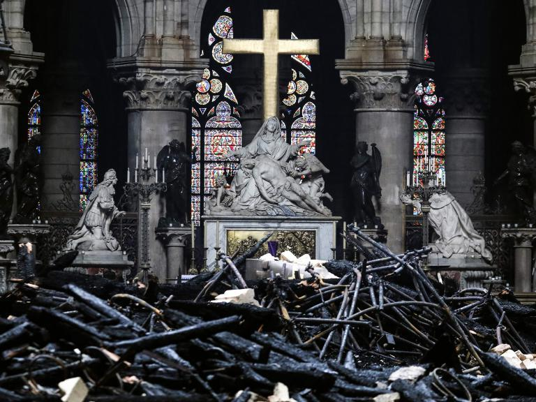 Notre Dame's restoration is a chance to make a symbolic stand against the new rise of religious hatred