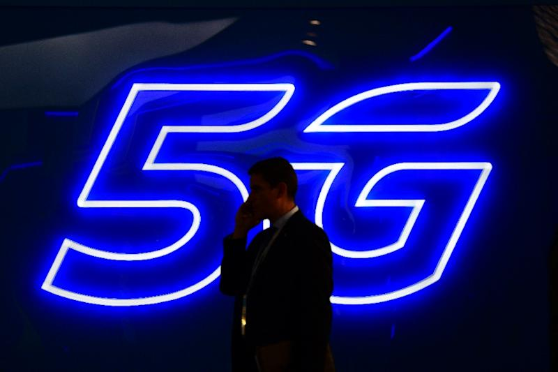 Long-anticipated deployment of ultrafast 5G wireless networks is beginning in South Korea and the United States (AFP Photo/GABRIEL BOUYS)