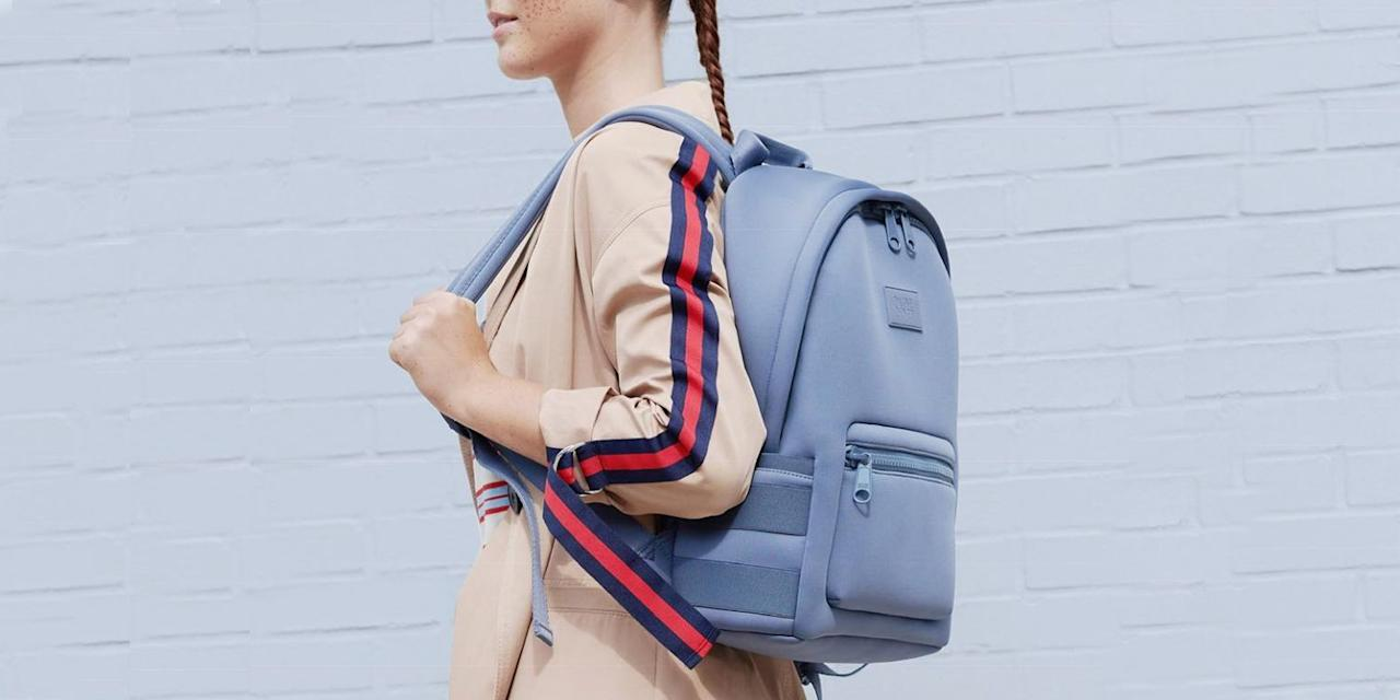 """<p>Tired of toting around both a work and gym bag every day? Combine the two — and give your shoulders a break — by using one of these gym backpacks. They're roomy enough to fit both <a href=""""https://www.bestproducts.com/tech/electronics/a14512117/reviews-best-laptops/"""" target=""""_blank"""">your computer</a> and your gym clothes, and some even have separate shoe compartments and come with laundry bags. Plus, they're super comfortable on your shoulders and back. </p><p>Because backpacks distribute weight more evenly than, say a tote bag, you can <a href=""""https://www.healthline.com/health/neck-pain/heavy-purse-bag-effects#four-harmful-habits"""" target=""""_blank"""">eliminate neck and shoulder pain</a> and improve your posture all around. Check out these picks for both men and women that you'll want to carry to work and beyond.</p>"""
